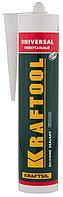 Герметик силиконовый KRAFTOOL FX100, белый, универсальный, 300мл