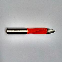 Сверло 10х70 мм для сквозных отверстий, специальное для сверлильно-присадочных станков  по ЛДСП, МДФ, дереву