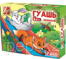 "Гуашь ""Zoo"" 6 цветов* 15 мл"