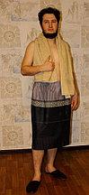 Набор мужской для бани и сауны - полотенце махровое и килт (бязь).