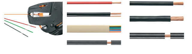 Инструмент для резки и снятия изоляции спроводов