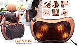 Массажная подушка Massage Pillow  8 роликов в авто и для дома., фото 5