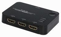 Свитч HDMI 3х1 (4Kx2K, 3D) с пультом