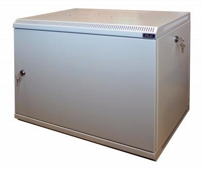 Шкаф настенный МиК 6U, 600*600*360, KEYS, серый, дверь-металл
