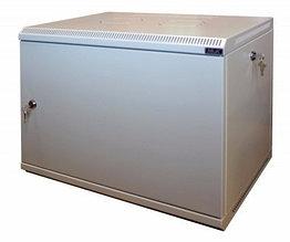 Шкаф настенный МиК 6U, 600*350*360, KEYS, серый, дверь-металл
