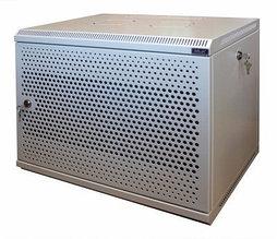 Шкаф настенный МиК 6U, 600*350*360, KEYS, серый, дверь-перфорация
