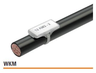 WKM прозрачная гильза с фиксацией кабельной стяжкой