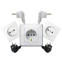 Электрика: Розетки, вилки, лампочки, удлинители