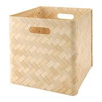 Ящик БУЛЛИГ бамбук ИКЕА, IKEA