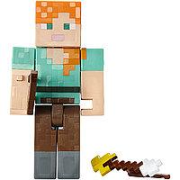 Minecraft Алекс с горящими стрелами (15 см)