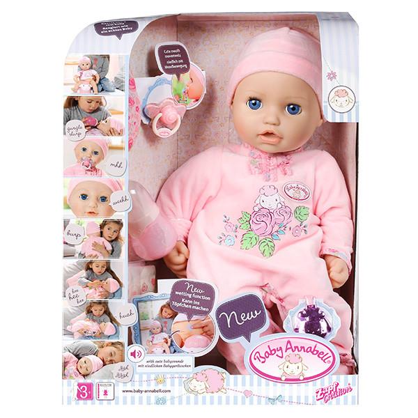 Игрушка Baby Annabell Кукла многофункциональная, 43 см, кор.