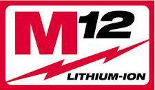 Аккумуляторный инструмент Milwaukee M12 В