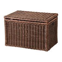 Ящик для хранения БРАНЭС темно-коричневый ИКЕА, IKEA , фото 1