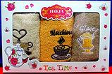 Подарок для женщины. Подарочный набор кухонных махровых полотенец., фото 3