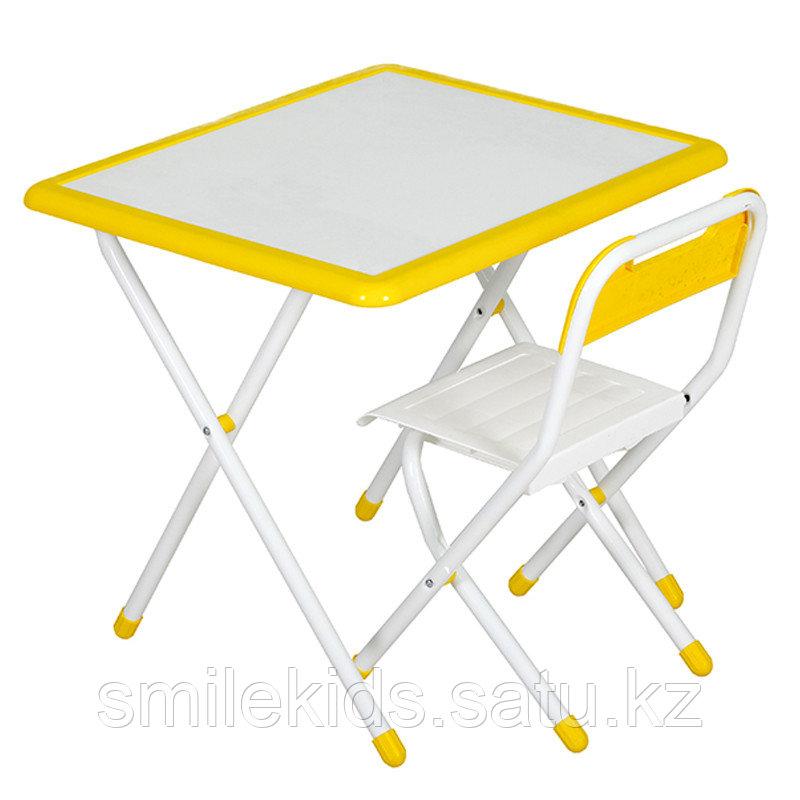 """Набор мебели """"Дэми"""" № 3-06 """"Дэми- White"""" (бело-желтый)"""