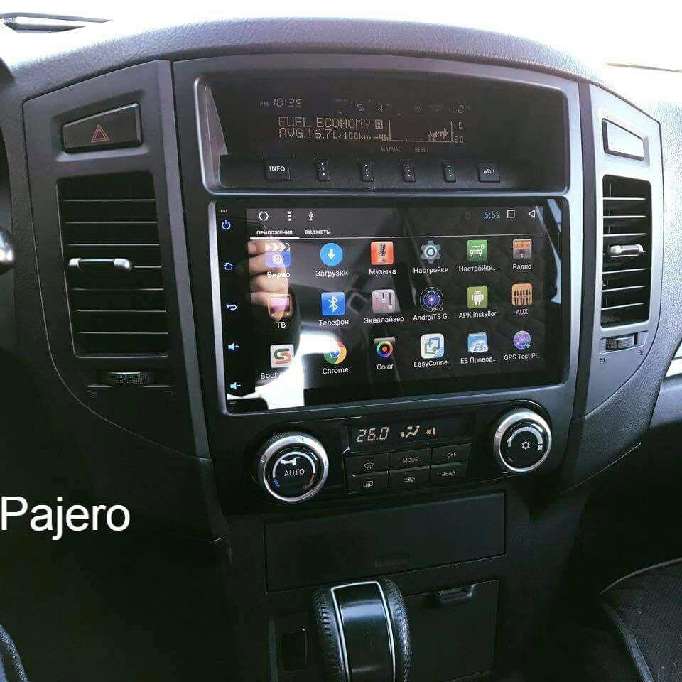 Штатное головное устройство Mitsubishi Pajero Android