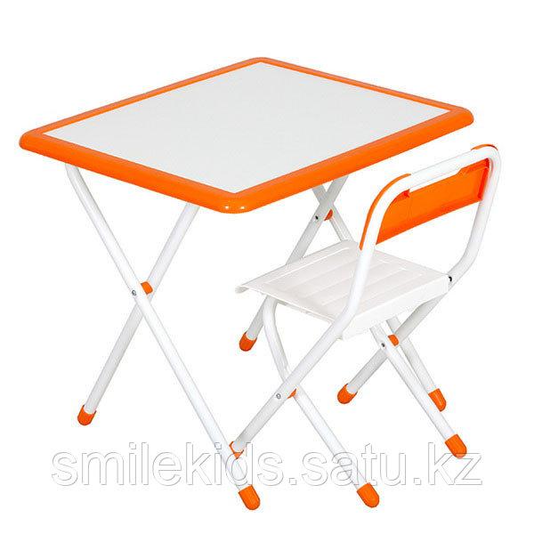 "Набор мебели ""Дэми"" № 3-06 ""Дэми- White"" (бело-оранжевый)"