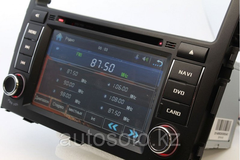 Штатное головное устройство Mitsubishi Pajero