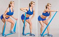 Лента-жгут для упражнений пилатес, средней упругости, ширина 5 см, толщина 1,2 мм, фото 1