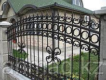 Забор с ковкой. Алматы