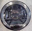 Фары линза, с диодной подсветкой (белые, черные) ВАЗ 2101-21214, фото 2