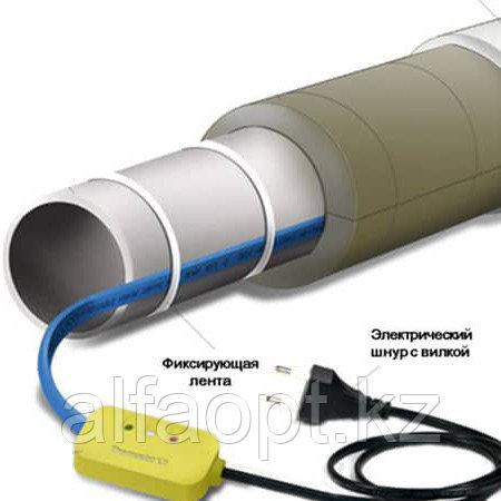 Как установить кабель на трубу для защиты от замерзания