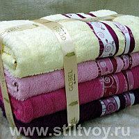 Подарочный набор лицевых полотенец 4 шт. Турция