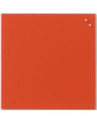 Доска стеклянная магнитно-маркерная, 45х45 см, цвет красная