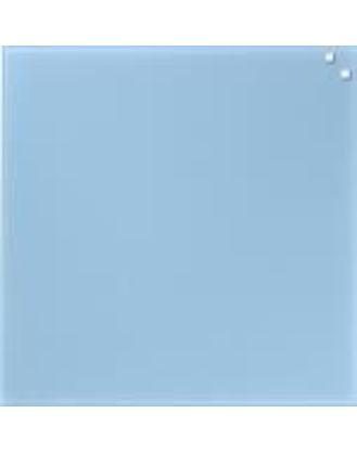 Доска стеклянная магнитно-маркерная, 45х45 см, цвет легкий голубой