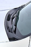 Накладка в проем стеклоочистителей (жабо)  Renault Duster 2012-, фото 2