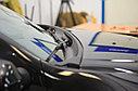Накладка в проем стеклоочистителей (жабо)  Renault Duster 2012-, фото 3