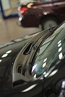 Накладка в проем стеклоочистителей (жабо)  Renault Duster 2012-, фото 1