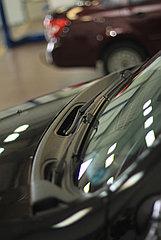 Накладка в проем стеклоочистителей (жабо)  Renault Duster 2012-