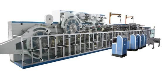 Оборудование по производству взрослых подгузников