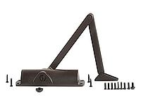 TS1000 дверной доводчик с тягой, темная бронза