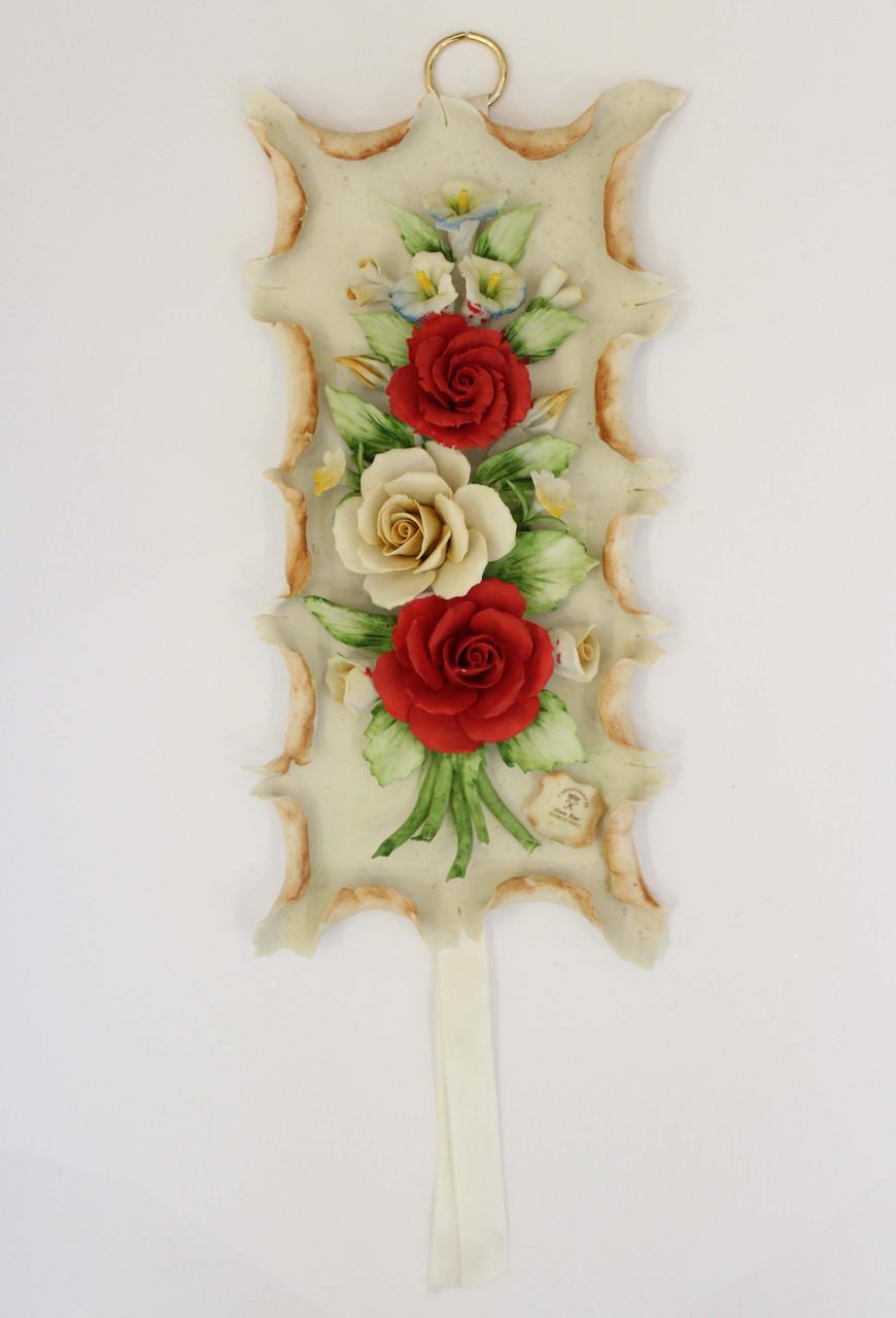 Декоративное панно Розы. Ручная работа. Италия