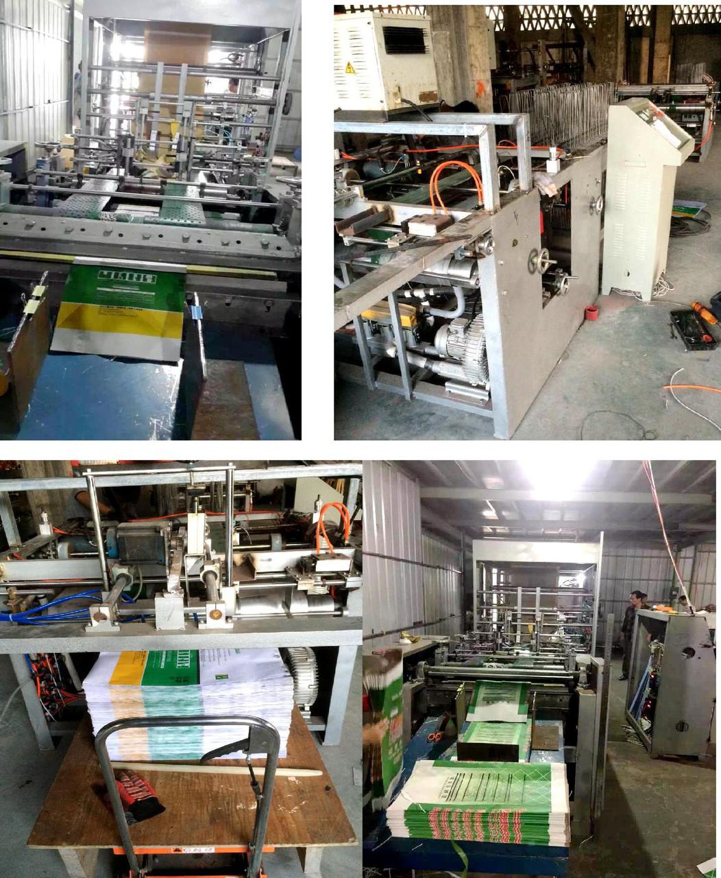 Оборудование по производству цементных мешков с клапаном