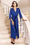 Женская  длинная шелковая сорочка+пеньюар. Anabel arto., фото 2