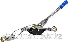 Лебедка ручная рычажная СИБИН, тросовая, 2т, 3м