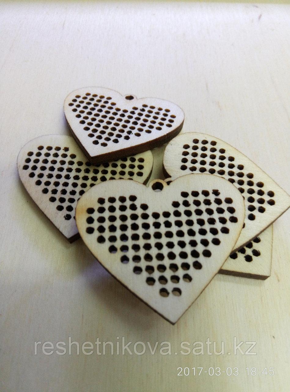 Основа для декорирования «сердечко»
