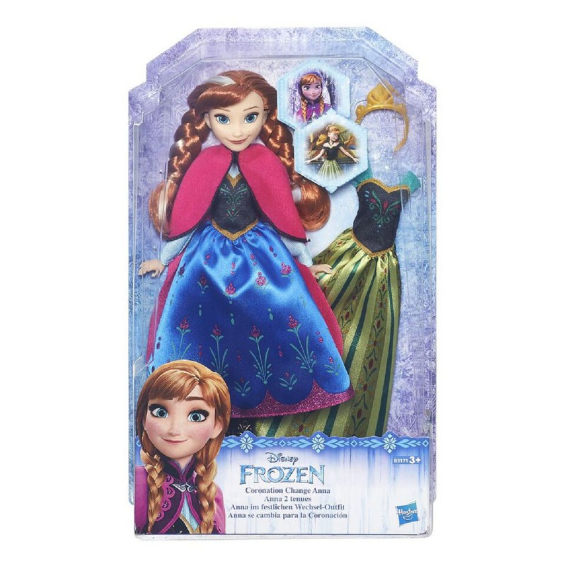 DISNEY FROZEN Кукла Холодное Сердце со сменным нарядом в ассорт. (B5169) - фото 4