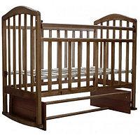 """Кровать детская  """"Алита-3"""", (орех)"""