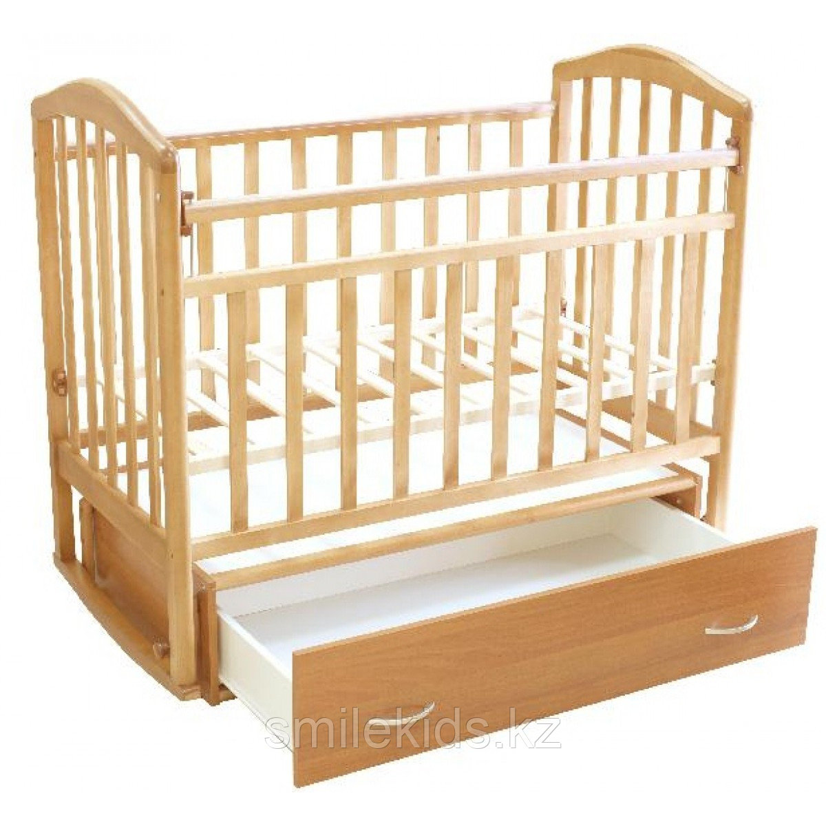 """Кровать детская """"Алита-4"""", (бук)"""