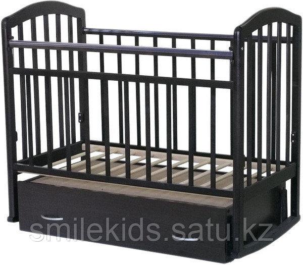 """Кровать детская Антел """"Алита-4"""", (махагон)"""