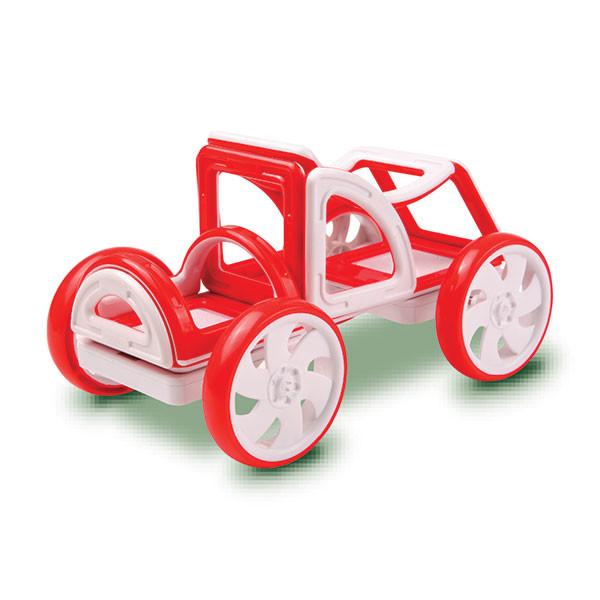 Magformers My First Buggy Car Set - Red Магнитный конструктор Магформерс - фото 2