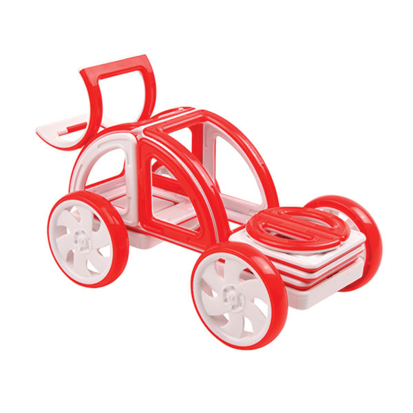 Magformers My First Buggy Car Set - Red Магнитный конструктор Магформерс - фото 4