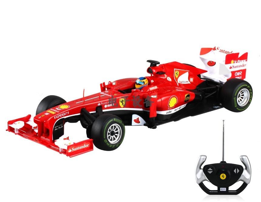RASTAR RC Р/У Машина 1:12 57400 Ferrari F138, яркая коробка, независимая подвеска,  48х23х17см, свет. фары и стоп-сигналы