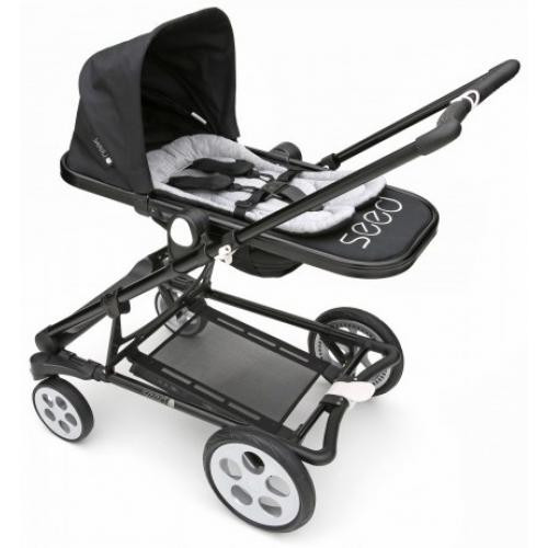 Вкладыш в коляску для младенца Seed Papilio Infant Insert grey/black