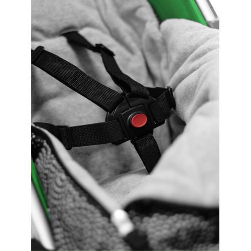 Конверт и накидка на ножки Seed Papilio Grey-Black