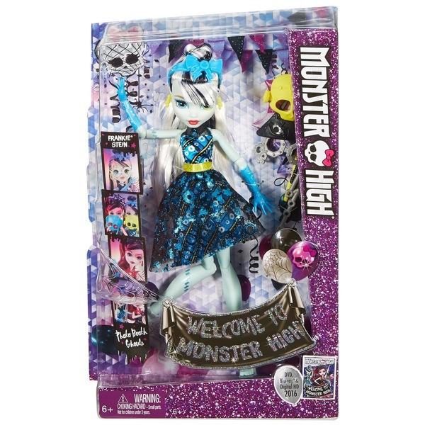 Monster High: Весёлая фотобуу-дка, Frankie Stein - фото 4